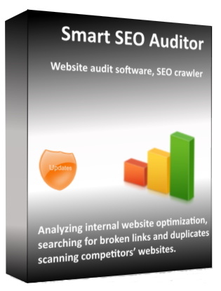 Smart SEO Auditor software box